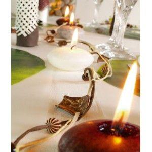 Guirlande déco naturelle chocolat et ivoire 1 M, idée, baby shower, baptême, anniversaire, birthday party, ideas, fêtes