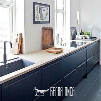 Черный цвет в интерьере кухни /белаялиса.рф рамки фоторамки http://белаялиса.рф/черный-цвет-в-интерьере-кухни/  Черный цвет присутствует в любом интерьере, зачастую в виде мелких штрихов, которые подчёркивают форму или выделяют акцент. Но что если черный цвет использовать в качестве основной гаммы? В данной статье мы будем рассматривать черный как основной цвет в интерьере кухни.  Итак, мы выбрали черный цвет в качестве основной гаммы на нашей кухне. Далее нам стоит определиться с тем, где…