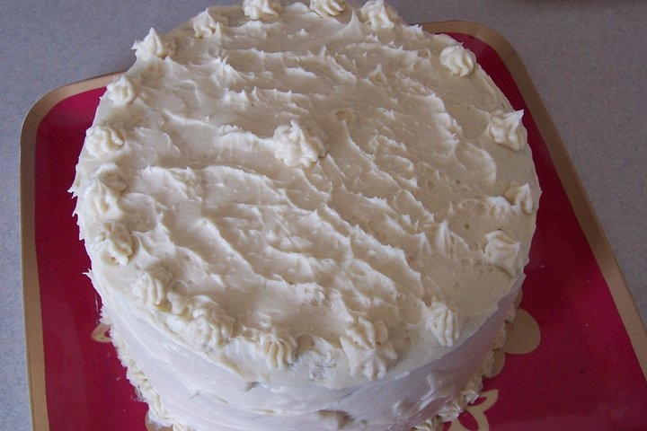 Martha Stewart Red Velvet Cake with my own recipe for cream cheese ...