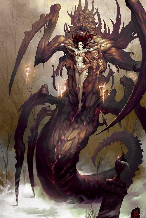 Iris, Fallen Necromancer by ArtofTy