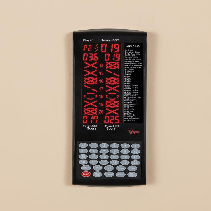 Viper ProScore Digital Dart Scorer, Silver
