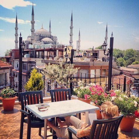 ✿ ❤ İstanbul, Turkey... ileftmyheartinistanbul: The View via coreybyrnes