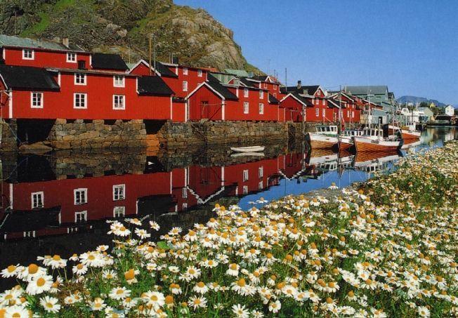Stamsund in Norwegen.