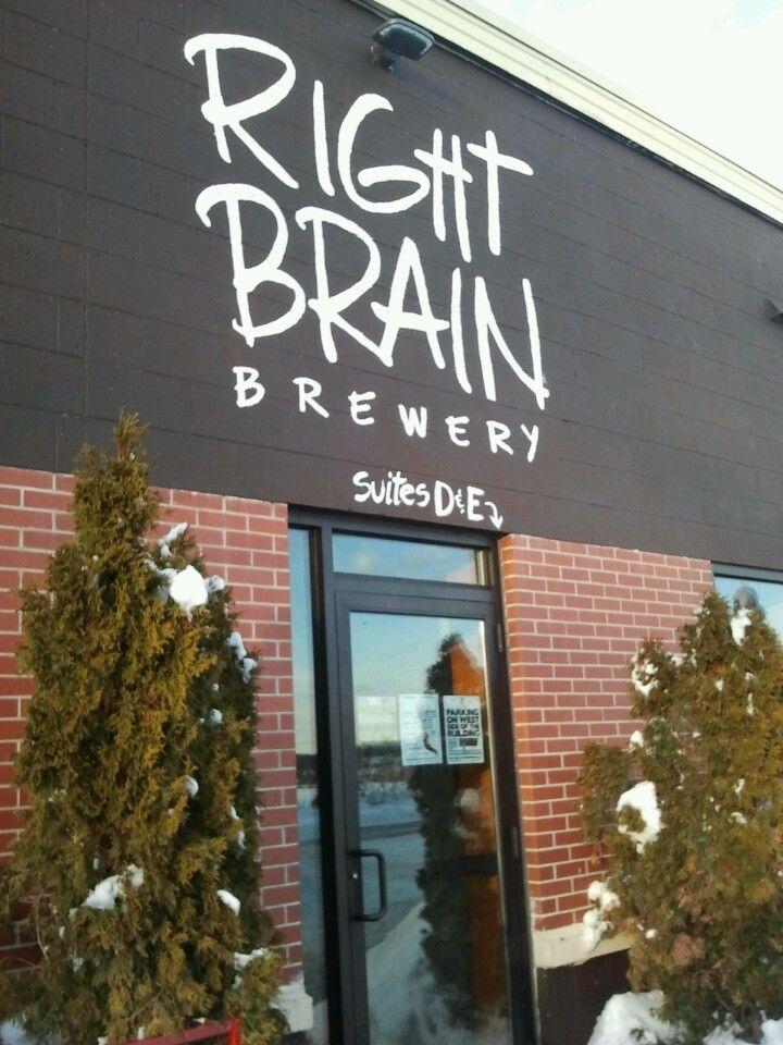 Right Brain Brewery in Traverse City, MI