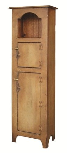 Primitive Furniture Kitchen Hutch Pantry Cupboard Farmhouse Country Cottage USA | eBay
