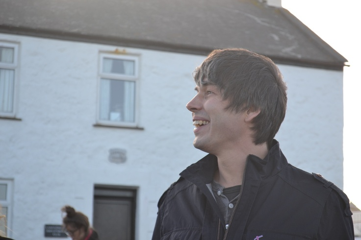 Professor Brian Cox was really pleased with the brownies we made for the road trip.