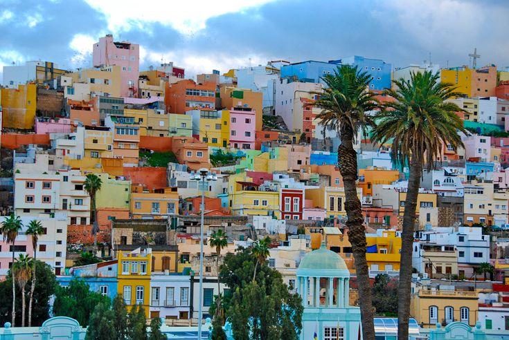Die Hauptstadt von Gran Canaria Aufgenommen mit Nikon D60, Objektiv Nikon AF-S DX 18-200MM VR ZOOM JAA794D