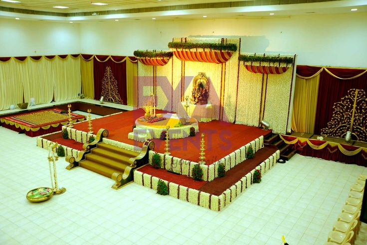 Stage Decoration Kottayam : Wedding event management kerala hindu stage