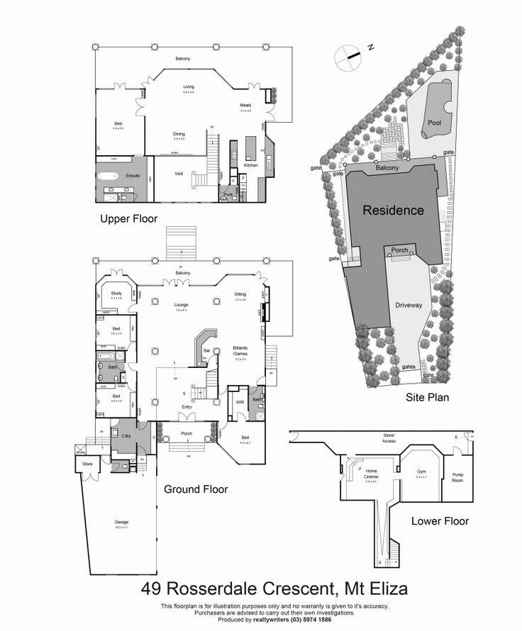 16/04/15 Mount Eliza, VIC Sales Agent - Michelle Skoglund Aqua Real Estate - Mount Eliza 03 9775 2222 #floorplans #floorplan #design #architecture