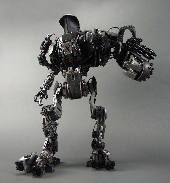 Chronicle Collectibles: Robocop 2 Cain Replice 1/6