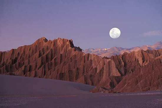 Maravillas naturales de mi pais, Argentina - Valle de la luna