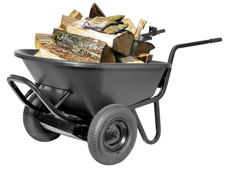 The PAW Electric Wheelbarrow will make hauling anything a breeze
