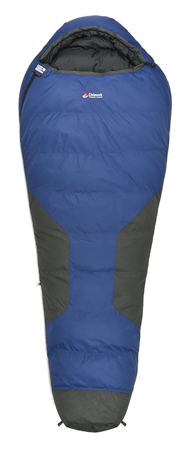 Chinook Polar Ice Mummy Down Sleeping Bag Blue Check This Awesome Image Camping Bags
