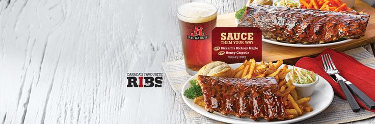Treat yourself with our New, fall-off-the-bone pork Back Ribs. Dry-rubbed and marinated for 24 hours, they are braised to perfection to satisfy all meat lovers.
