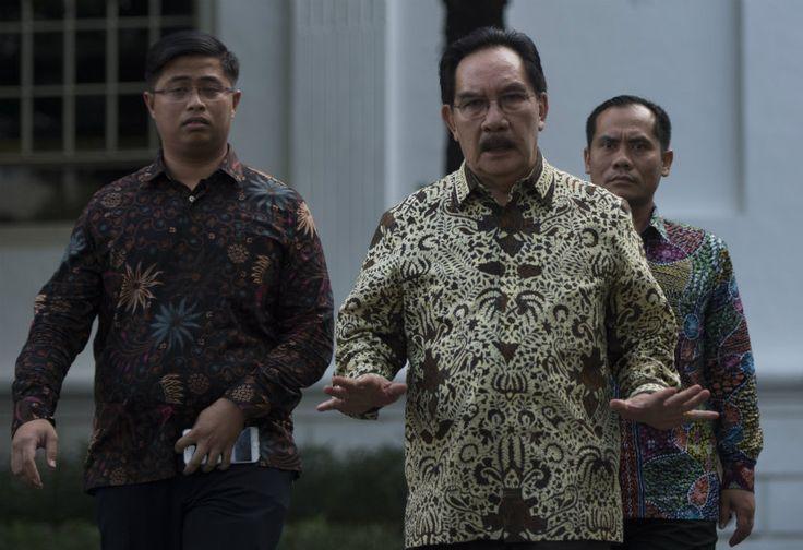 Presiden Jokowi Enggan Bocorkan Pembicaraan dengan Antasari