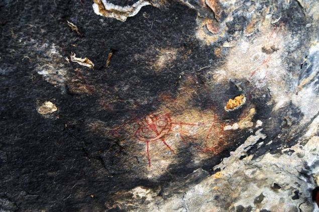10,000 Year Old Rock Paintings Depicting Extraterrestrials & UFOs Discoverd In India