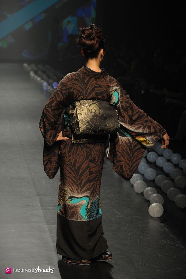 Spring/Summer 2014 Collection of Japanese fashion brand JOTARO SAITO,SANSAI…