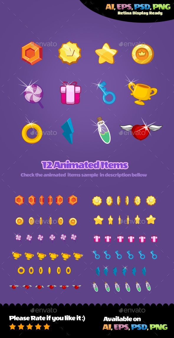 Animated Items