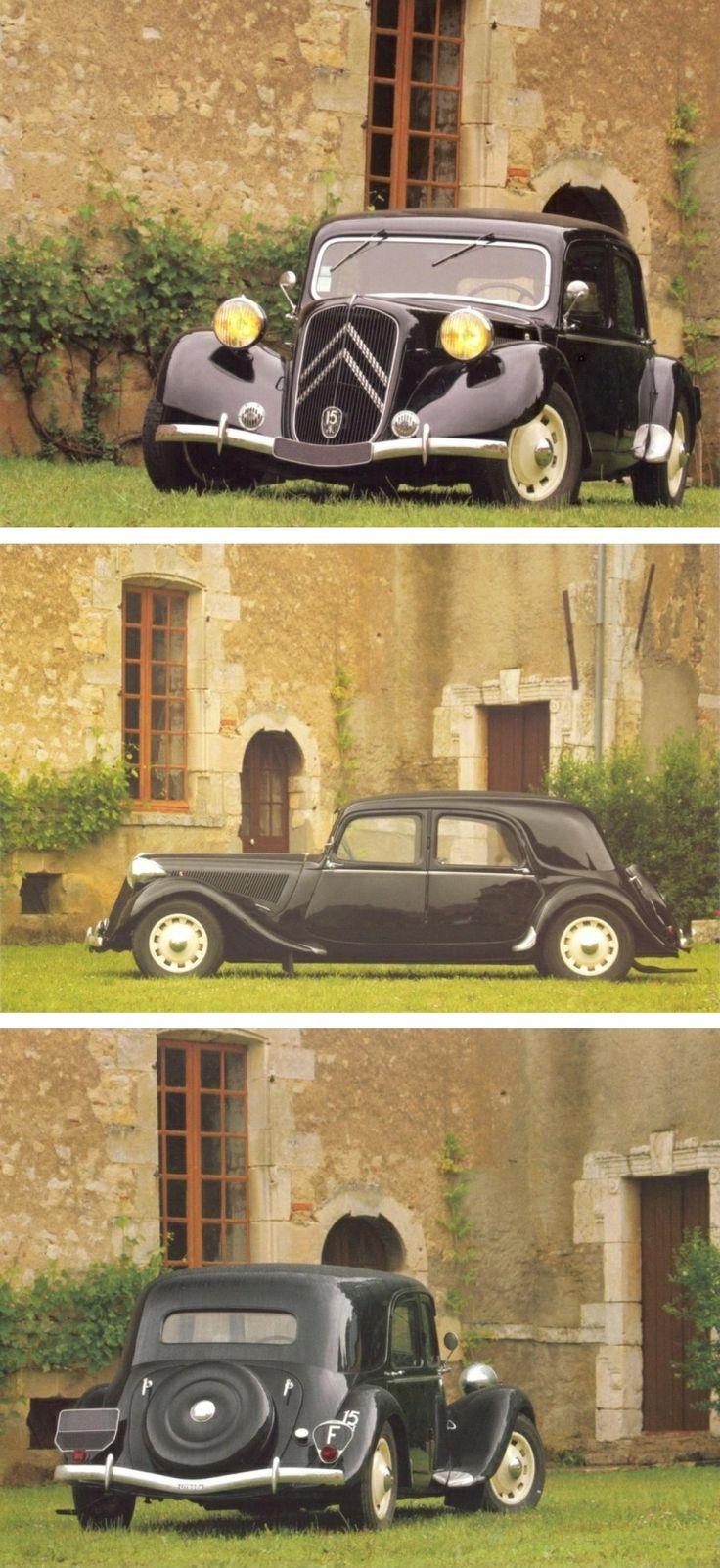 Citroën Traction Avant 15-SixG 1939 [photo Pierre-Yves Gaulard]
