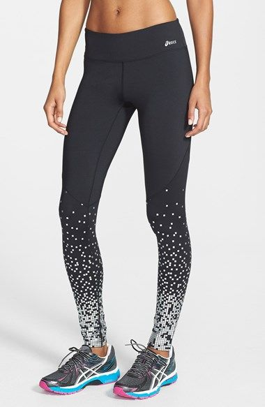 Free shipping and returns on ASICS® 'Adria' Running Tights at Nordstrom.com. Be seen mile after stylish mile in sweat-wicking, high-performance running tights scattered with a metallic foil print.