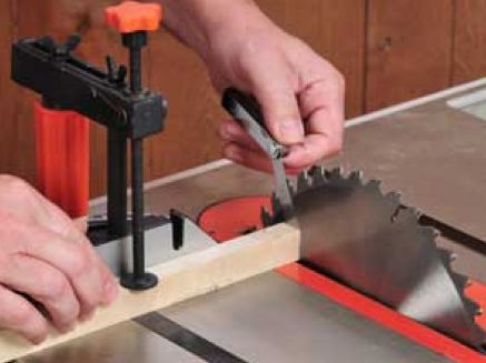 The 25 best table saw safety ideas on pinterest table saw how to set up your table saw miter gauge and fence to keep your table saw greentooth Images