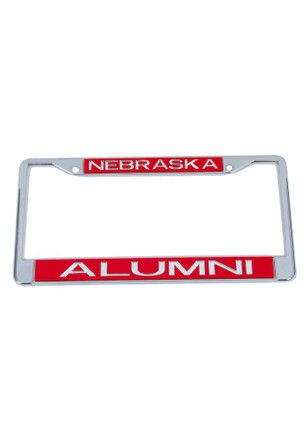 Nebraska Cornhuskers Chrome Alumni Car Accessory License Frame