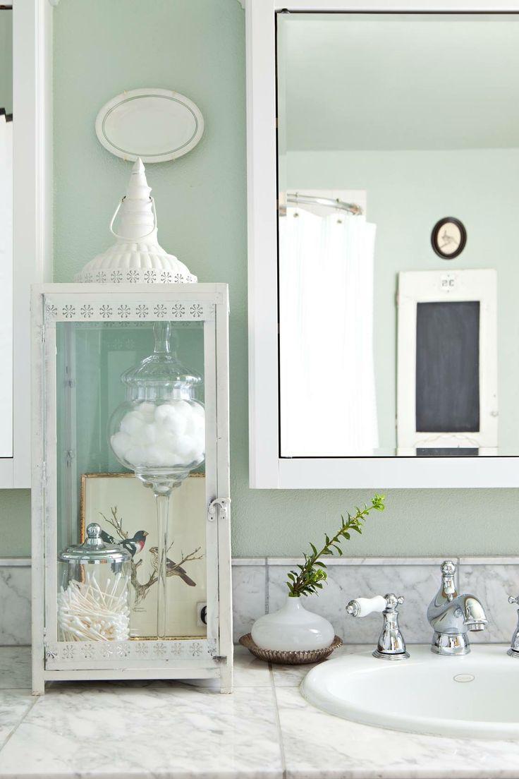 Ideas Para Decorar Un Baño Con Velas: de decorar vuestros baños es con un farol en el cual en lugar de