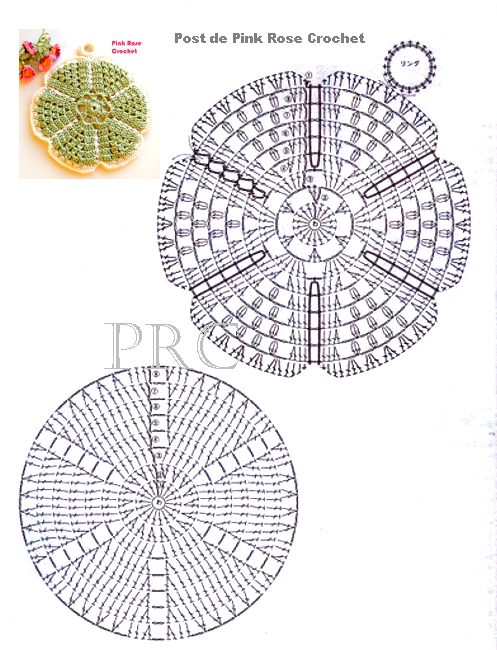 84 best Crochet Potholders images on Pinterest   Crochet potholders ...