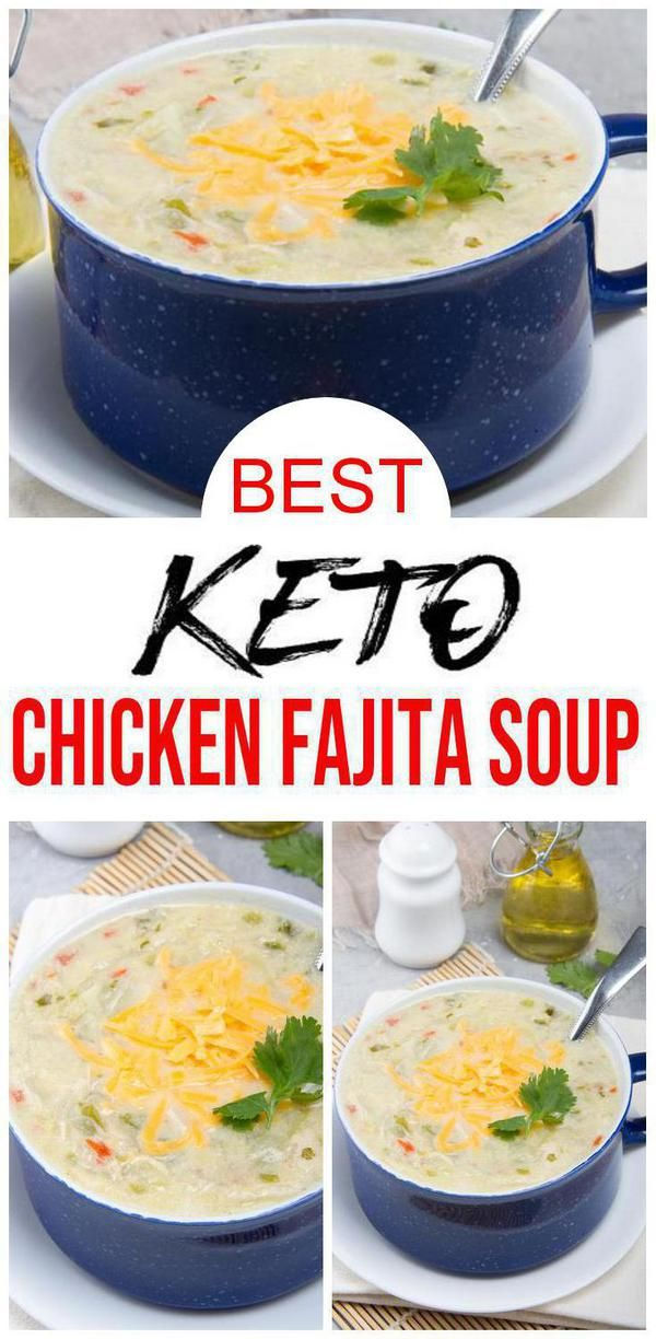 BEST Keto Soup! Low Carb Keto Chicken Fajita Soup Idea – Quick & Easy Ketogenic Diet Recipe – Completely Keto Friendly – Mexican Food Dinner Idea