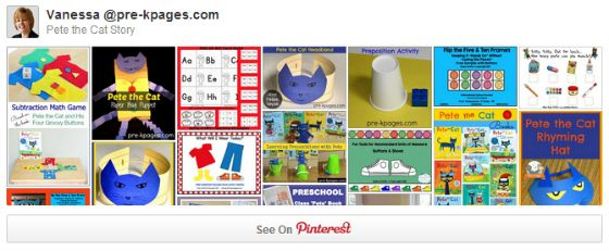 Learning Prepositions with Pete the Cat