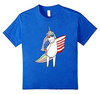 Amazon.com: Happy 4th Of July Unicorn Ma Memorial Day 2017 T-shirt: Clothing