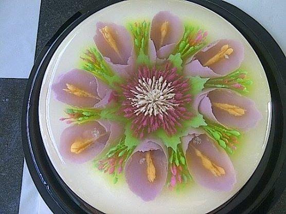 violet lilies
