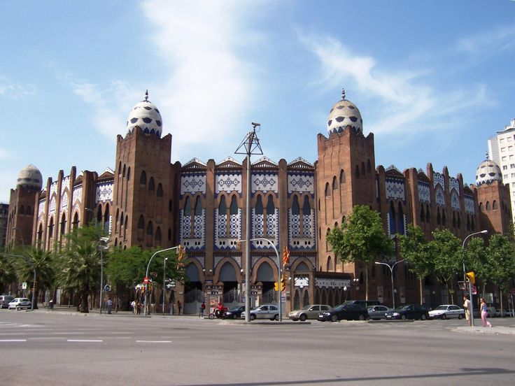 Plaza de Toros. La Monumental. Barcelona, Spain.
