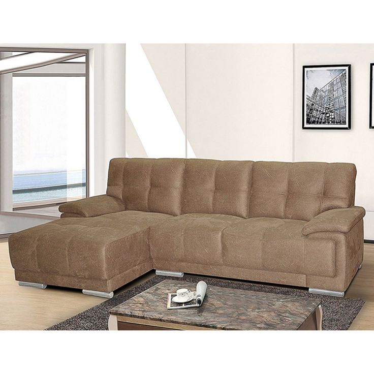 U.S. Pride Furniture Direct Embossed Fabric Sectional Sofa - S0068L-2PC