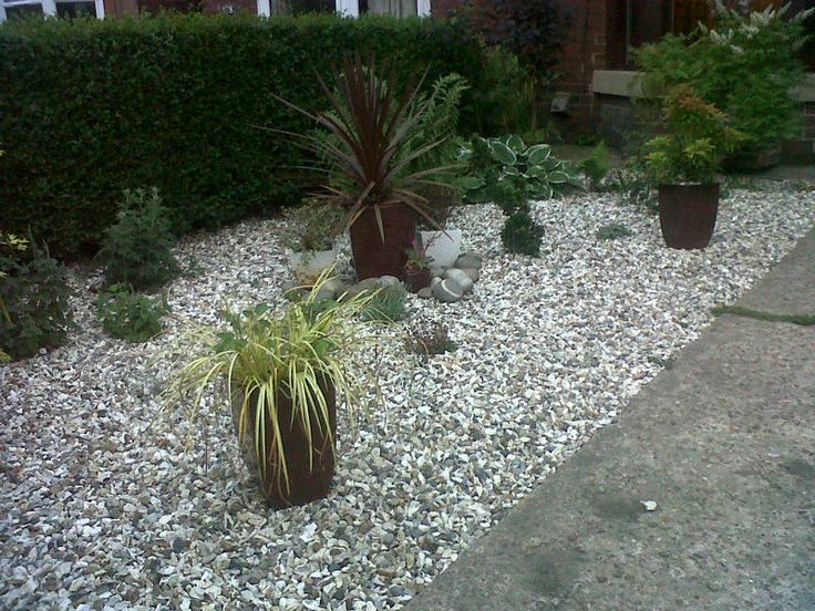 8 best images about customer photos decorative gravel on pinterest - Decorative stone garden landscaping ideas ...