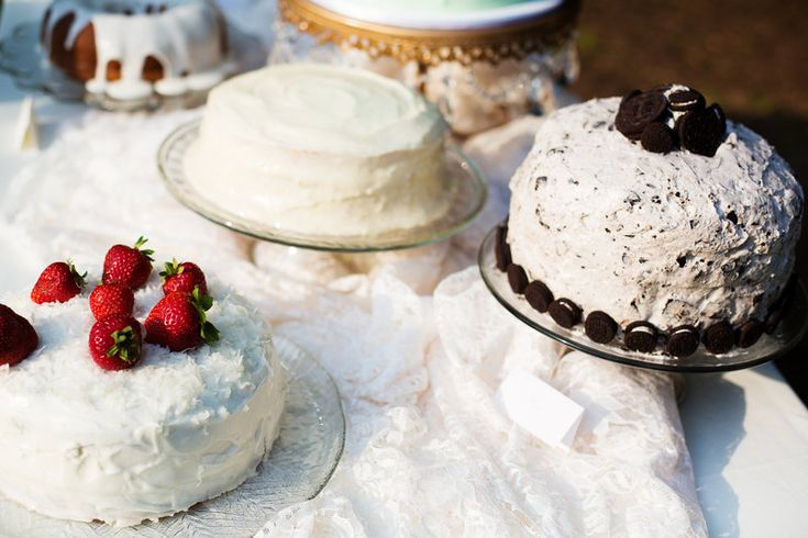 Cake Buffet - Katie + Kenny's Wedding {The Fillauer Lake ...