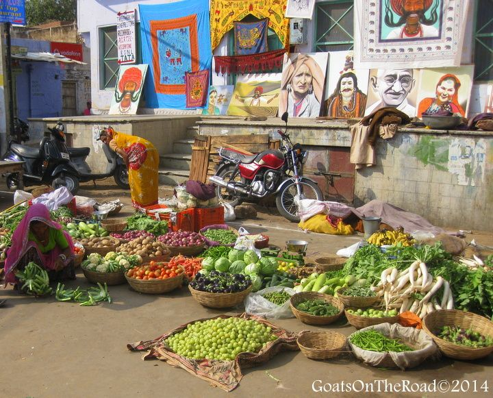 market pushkar india