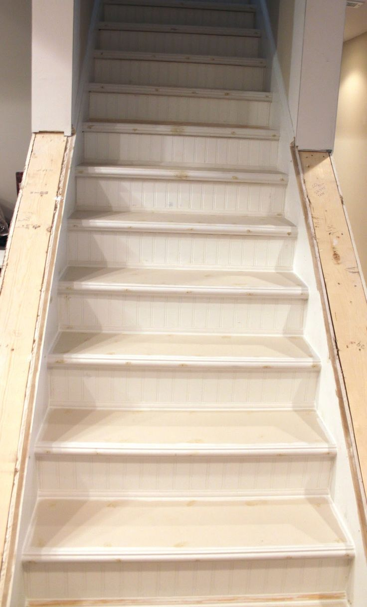 Basement Stairs Ideas: 16 Best Images About Stairs Makeover On Pinterest