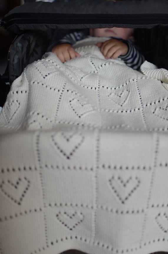 Padrão de manta de bebê de malha de cabo PDF em inglês, Padrão de manta de bebê de malha, Padrão de tricô para bebês, Cobertor de bebê padrão de tricô