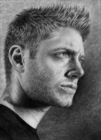 The incredible pencil portrait drawings by Diamond4girl