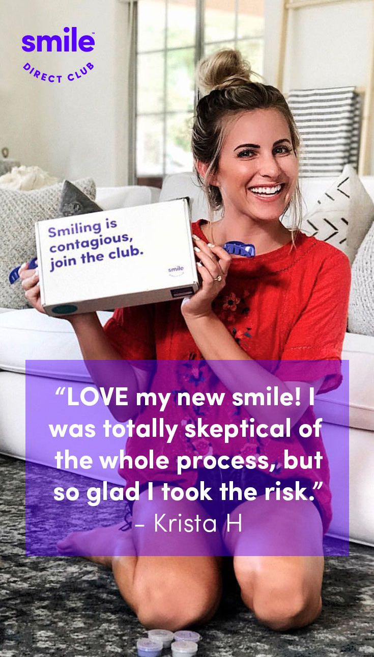 Get your dream smile for up to 60% less than braces or other invisible aligners with SmileDirectClub. See how it works and get started with your free smile assessment.