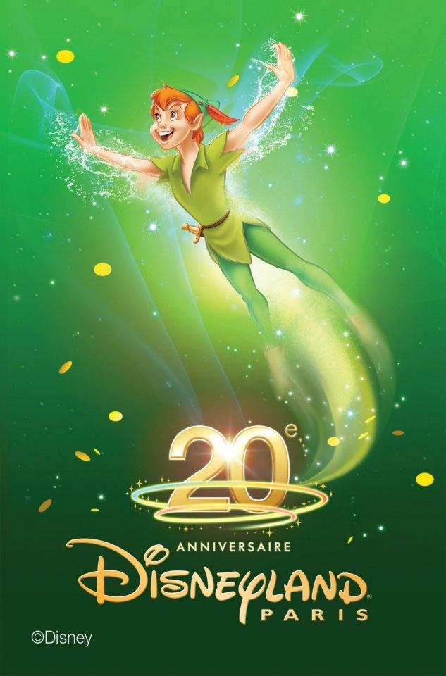 Peter Pan - Disneyland 20ans