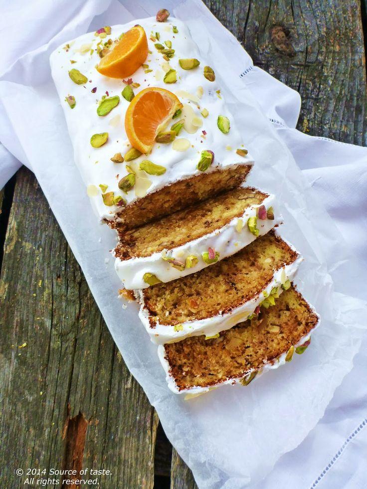 Citrus Cake with Pistachios