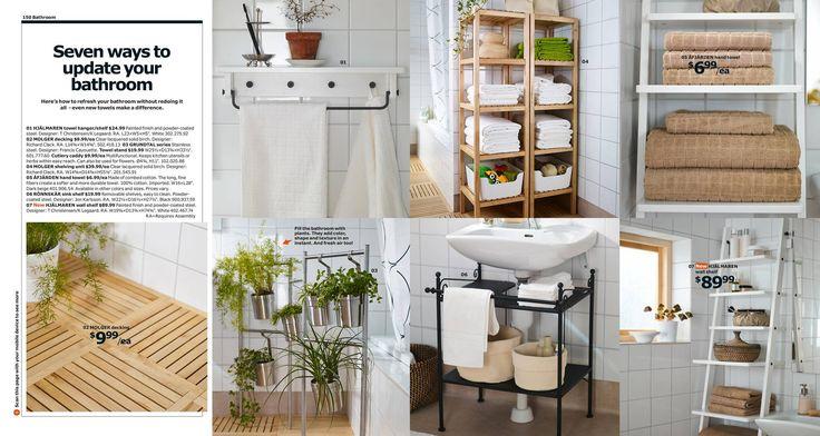 Attractive RÖNNSKÄR Sink Shelf In Black Via IKEA Catalog 2014, $19.99. Perfect For  Adding Shelving Around A Pedestal Sink. | Home Items | Pinterest |  Townhouse, ...
