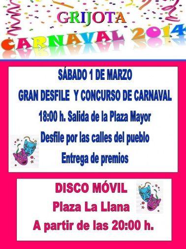 Carnaval Grijota Palencia