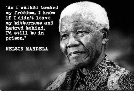 I am sad today. The world has lost a great symbol of humility and compassion. A quality which is so rare these days. May the South African Rainbow Nation remember that this is the best way forward. By Deidré Wallace