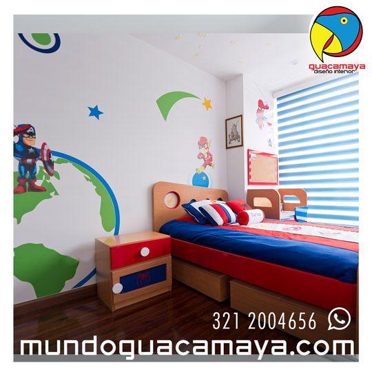10 best Vinilos Decorativos Habitaciones Niños images on Pinterest ...