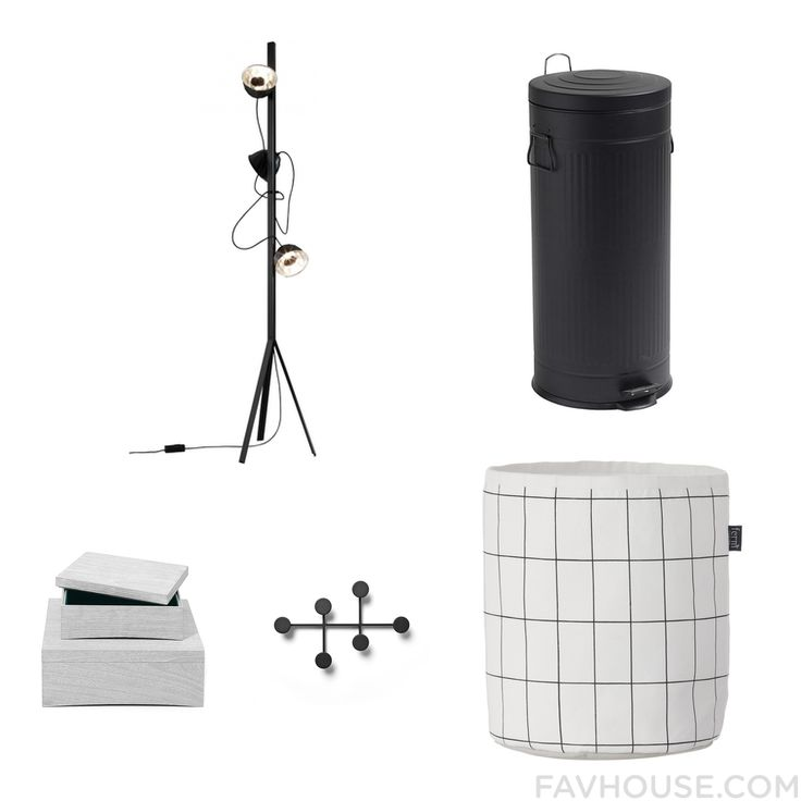 Decorating Tip Including Ligne Roset Floor Lamp Black Trash Can Ferm Living Small Item Storage And Stackable Storage Boxe From January 2017 #home #decor