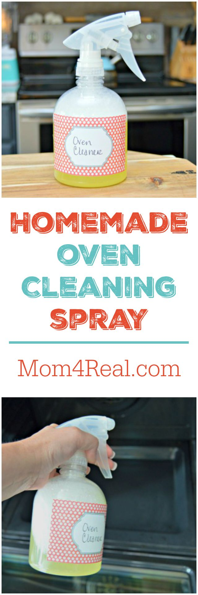 Dirty oven? This homemade oven cleaning spray will help remove any burned on foods, buildup and grime from your…