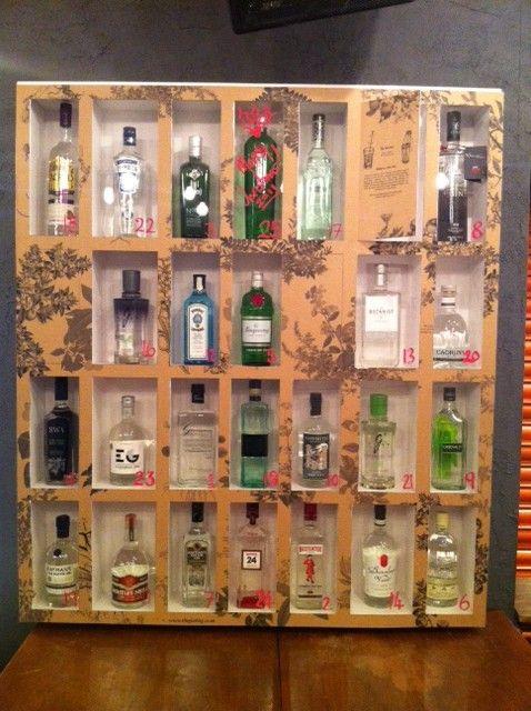 best 25 gin advent calendar ideas on pinterest whiskey. Black Bedroom Furniture Sets. Home Design Ideas